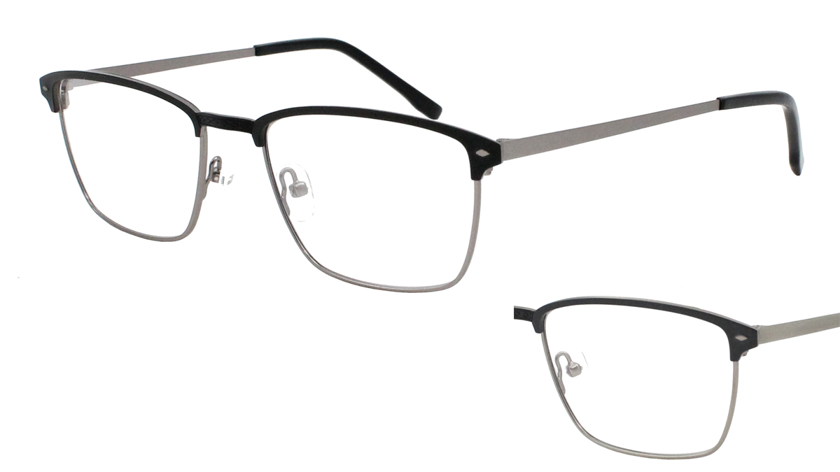 Qube Glasses Frames : Mission 1724 - Mirage Eyewear