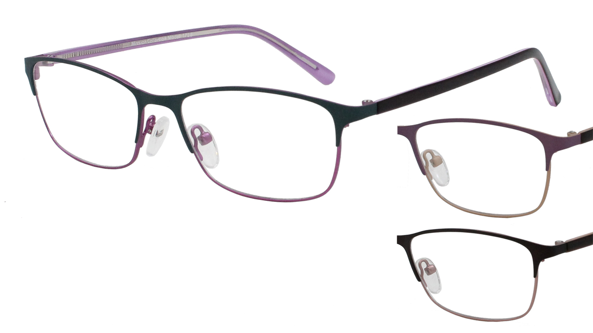 Qube Glasses Frames : Mission 1728 - Mirage Eyewear