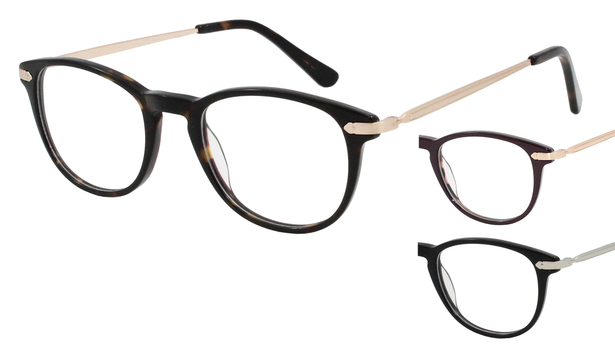 Qube Glasses Frames : Mission 1736 - Mirage Eyewear